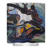 Another Dreamtime Shower Curtain