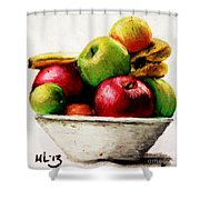 Another Fruit Bowl Shower Curtain
