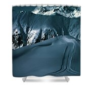 Another Late Day In The Mountains  Shower Curtain
