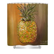 Another Pineapple Shower Curtain