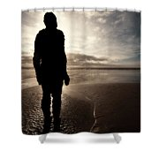 Another Place Number Four Shower Curtain