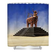 Another Roadside Attraction Shower Curtain