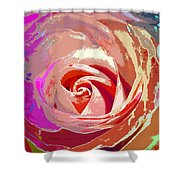 Another Rose Shower Curtain