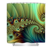 Another Secret Place Shower Curtain