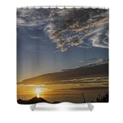 Another Socal Summer Sunset Shower Curtain