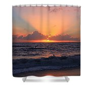 Another Sunrise Shower Curtain