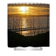 Another Sunset At Bodega Shower Curtain