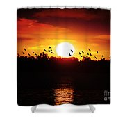 Another Sunset Shower Curtain