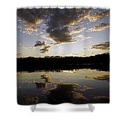 Another Sunset In The Jungle Shower Curtain