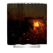 Another Time Another Space Shower Curtain
