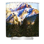 Another View Of My Mountain Shower Curtain