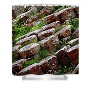 Another View Of The Giant's Causeway Shower Curtain