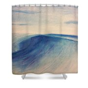 Another Wave Shower Curtain