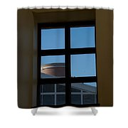 Another Window Shower Curtain