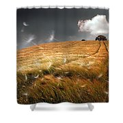 Another Windy Day Shower Curtain