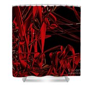 Ant Fest  By Jammer Shower Curtain