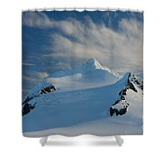 Antarctic Landscape Shower Curtain