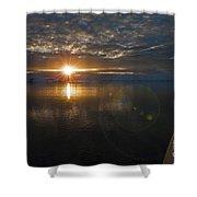 Antarctic Twilight... Shower Curtain