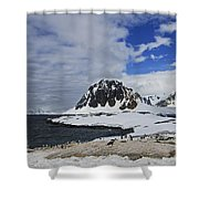 Antarctic Wilderness... Shower Curtain