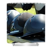 Antares Helmets Shower Curtain