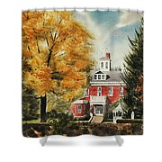 Antebellum Autumn Ironton Missouri Shower Curtain