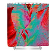 Antelope Canyon Abstract Shower Curtain