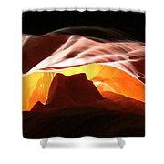 Antelope Canyon Panorama Shower Curtain