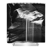Antelope Canyon Sand Fall Shower Curtain