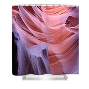 Antelope Canyon Waves Shower Curtain