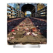Antelope Creek Bridge Shower Curtain