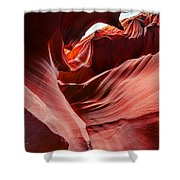 Antelope Crevice Shower Curtain