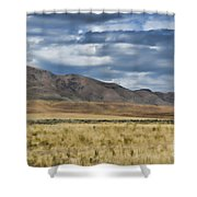 Antelope Island Camera Flats Shower Curtain
