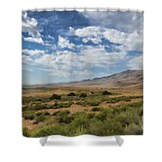 Antelope Island Park Utah Shower Curtain