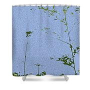 Antenna Cutout Shower Curtain