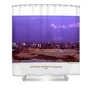 Anthony Howarth Collection - Gold - Golden Mine Dumps - South Africa Shower Curtain