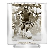 Anthony Howarth Collection - Gold - Sunday Mine Dance 2 - S.a. Shower Curtain