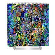 Anthyropolitic 1 Shower Curtain