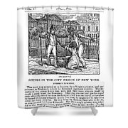 Anti-slavery, 1835 Shower Curtain
