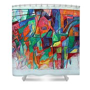 Birth-pangs Of Redemption 1 Shower Curtain