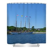 Anticipating The Bar Harbor Experience Shower Curtain