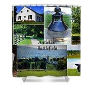 Antietam Collage Shower Curtain
