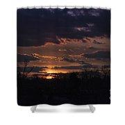Antietam Sunset Shower Curtain