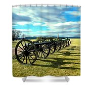 Antietem Battlefield Painting Forsale Shower Curtain