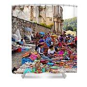 Antigua Guatemala Shower Curtain