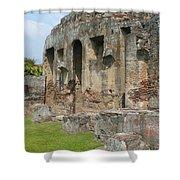 Antigua Ruins Xvi Shower Curtain