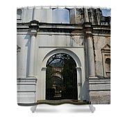 Antigua Ruins Xxi Shower Curtain