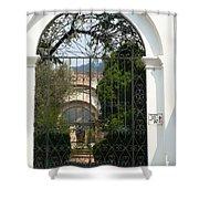 Antigua Ruins Xxiii Shower Curtain