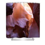 Antilope Canyon Colors Shower Curtain
