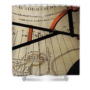 Antiquaria Nautica Shower Curtain