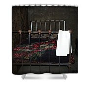 Antique Bed Shower Curtain